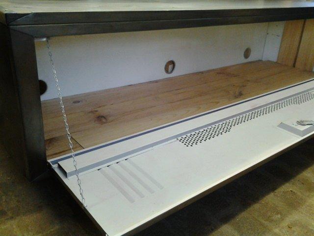 meuble tv vestiaire metallique simple vestiaire rouill. Black Bedroom Furniture Sets. Home Design Ideas